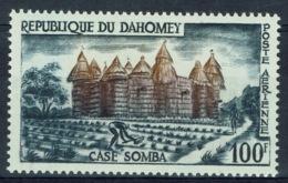 Dahomey (Benin), Somba House, 1960, MNH VF airmail - Benin - Dahomey (1960-...)