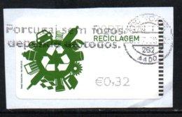 Portugal 2009 ATM-FRAMA - Reciclagem - 0.32 € - ATM/Frama Labels