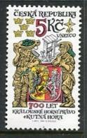 CZECH REPUBLIC 2000 Royal Mining Rights MNH / **.  Michel 245 - República Checa