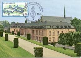 BELGIQUE. N°1935 De 1979 Sur Carte Maximum. Abbaye De La Cambre. - Abbazie E Monasteri