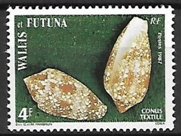 WALLIS  ET  FUTUNA   -    1987 .  Y&T N° 361 ** .  Coquillage - Wallis Y Futuna