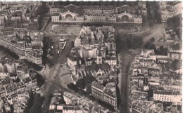 Paris - Vue Aérienne Gare De L'Est, Bd De Strasbourg Et Magenta ** MAGNIFIQUE Photo Cpa De 1966 ** Ed. Greff-Serp N°65 - France