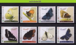 Nff189 FAUNA VLINDERS BUTTERFLIES SCHMETTERLINGE MARIPOSAS PAPILLONS NIGER 2013 PF/MNH - Schmetterlinge