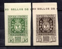 Espagne YT N° 555/556 Neufs ** MNH. TB. A Saisir! - 1931-Today: 2nd Rep - ... Juan Carlos I