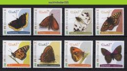 Nff190 FAUNA VLINDERS BUTTERFLIES SCHMETTERLINGE MARIPOSAS PAPILLONS NIGER 2013 ONG/LH # - Schmetterlinge