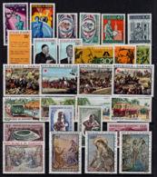 O0013 DAHOMEY 1968,  MNH Stamps, Mostly Sets  A - Benin - Dahomey (1960-...)