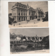 LAUSANE LOT 2 CARTES - VD Vaud