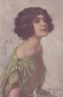 ILLUSTRATEUR ITALIEN - Portrait De Femme - Stampa Milano 16-09-18 Série 998-4 (lot Pat 89/1) - Künstlerkarten
