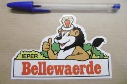Autocollant Stickers - Parc D'attraction Belge IEPER BELLEWAERDE BELGIQUE - Stickers
