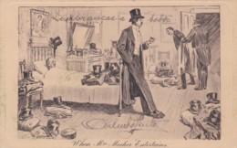 """CHARLES DANNA GIBSON ILLUSTRATION-  """" WHEN MRS MECKER ENTERTAINS"""" - Henderson London  N°107 (lot Pat 89/1) - Illustratoren & Fotografen"""