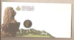 San Marino - Moneta Bimetallica Da £ 500 In Busta Commemorativa - 1995 - San Marino