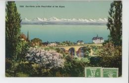 SUISSE - SERRIÈRES Près NEUCHATEL Et Les Alpes - NE Neuchatel