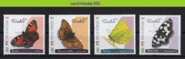 Nff191 FAUNA VLINDERS BUTTERFLIES SCHMETTERLINGE MARIPOSAS PAPILLONS NIGER 2013 PF/MNH # - Schmetterlinge