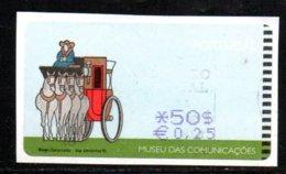 Portugal 1998 ATM-FRAMA - Museu Das .... - 0.50 $ - ATM/Frama Labels