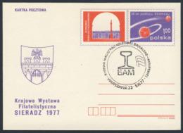 Poland Polska Polen 1977 Karte Card – Bau Der Baikal-Amur-Bahn / Eiusenbahn / Railway / Chemin De Fer - Treinen