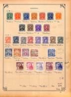 [702007]B/TB//MIX/MIX-Honduras 1894-1898 - N° 57/88,  Trains, Célébrité - Trains