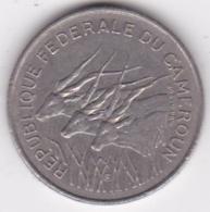 REPUBLIQUE FEDERALE DU CAMEROUN . 100 Francs 1971 , En Nickel .KM# 15 - Cameroun