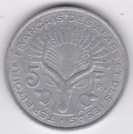 TERRITOIRE FRANCAIS DES AFARS ET DES ISSAS. 5 FRANCS 1975. Aluminium - Djibouti
