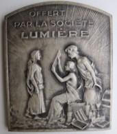 Medaille PHOTOGRAPHIE. SOCIETE LUMIERE Attribuée à Er. Reichenbach 1907 1932 - Francia