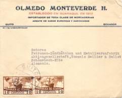 Cover Quito > Schönebeck / Elbe 193? - Ecuador