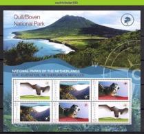 Nff195c FAUNA REPTIELEN SCHILDPAD VOGELS NATIONAL PARC BIRDS REPTILES TURTLE SCHILDKRÖTEN OISEAUX GRENADA 2009 PF/MNH # - Tortugas