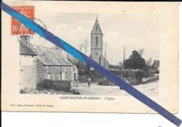 St Martin Le Greard -eglise   - Circulé - Otros Municipios