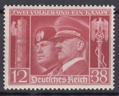 DR  763, Postfrisch **, Deutsch-italienische Waffenbrüderschaft 1941 - Deutschland