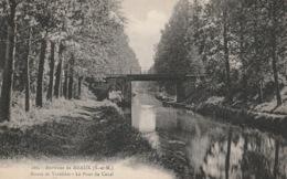 MEAUX - CANAL DE L'OURCQ - ROUTE DE VAREDDES - PONT - Meaux