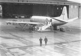 """08795 """"AEROPORTO MILANO LINATE - I-LOTT ALITALIA - VICKERS VISCOUNT V.785D"""" ANIMATA FOTO ORIG. - Aviazione"""