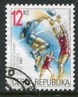 CZECH REPUBLIC 2001 European Volleyball Championship Used.  Michel 290 - Repubblica Ceca
