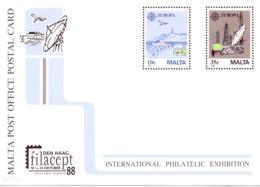 MALTA POSTAL CARD  WORLD PHILATELIC EXHIBITION  (NOV190010) - Malta