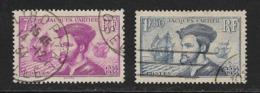FRANCIA - CLÁSICOS. Yvert Nsº 296/97 Usados - Francia