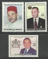 Morocco 2006 Mi 1527-1529 MNH ( ZS4 MRC1527-1529 ) - Sellos