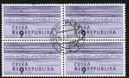 CZECH REPUBLIC 2001 Europa: Water Resources Used Block Of 4.  Michel 289 - Repubblica Ceca