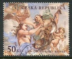 CZECH REPUBLIC 2001 Baroque Art 50 Kc Used Single Ex Block .  Michel 288 - Repubblica Ceca