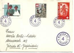 Suiza. Correo Militar. III Movilización Del Ejército - Posta Militare