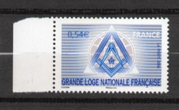 Timbres France N°3993 Neuf ** Grande Loge Bord De Feuille - Francia