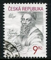 CZECH REPUBLIC 2001 Jan Komensky (Comenius)   Used .  Michel 283 - Repubblica Ceca
