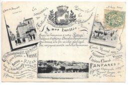 Cpa...Saint-jean-de-Bournay...(Isère)...en Souvenir Du Festival De Musique...1907... - Saint-Jean-de-Bournay