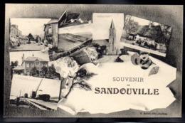 SANDOUVILLE 76 - Souvenir - Multivues - #B17 - Altri Comuni