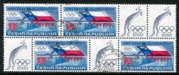 CZECH REPUBLIC 2000 Olympic Games Block Of 4 Used.  Michel 267 - Repubblica Ceca