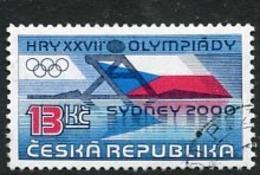 CZECH REPUBLIC 2000 Olympic Games  Used.  Michel 267 - Repubblica Ceca