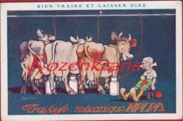 Ciney Usine Imperia Machine Machines A Traire J. Wilmotte Melkmachine Vache Koe Cow Reclame Publicite - Ciney
