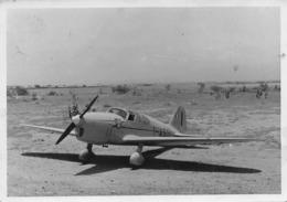 """08797 """"SAI AMBROSINI S.1001 GRIFO I-ASSI / L. BONZI (1902/77) M. LUALDI (1912/68) RAID MILANO-B. AIRES 1948"""" FOTO ORIG. - Aviazione"""
