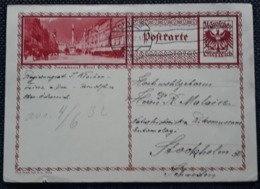 Bildpostkarte 1932, LINZ Nach STOCKHOLM - 1918-1945 1st Republic