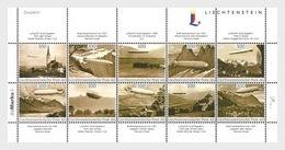 Liechtenstein 2014 - Zeppelin Souvenir Sheetlet Mnh - Liechtenstein