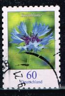 Bund 2019,Michel# 3481 O Blumen: Kornblume, Selbstklebend - [7] République Fédérale