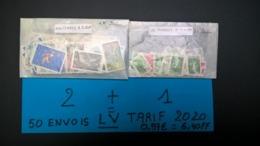 Timbres Neufs Pour 50 Envois Lettre Verte (20 Grs ) Au TARIF 2020 Valeur Faciale 320 FF Soit + Ou - 48 Euros . - 50 % - Collections