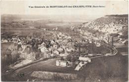 70 Haute-Saône - Vue Générale De Montarlot-les-Champlitte - Otros Municipios