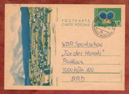 P 81 Krone Abb Mauren, Schaanwald Nach Koeln 1982 (82354) - Ganzsachen